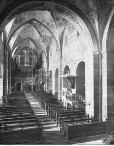 ehemalige Orgel im Westwerk der St. Bonifatius Kirche Freckenhorst