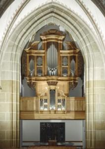 Hauptwerksprospekt in der Pfarrkirche St. Dionysius in Nordwalde