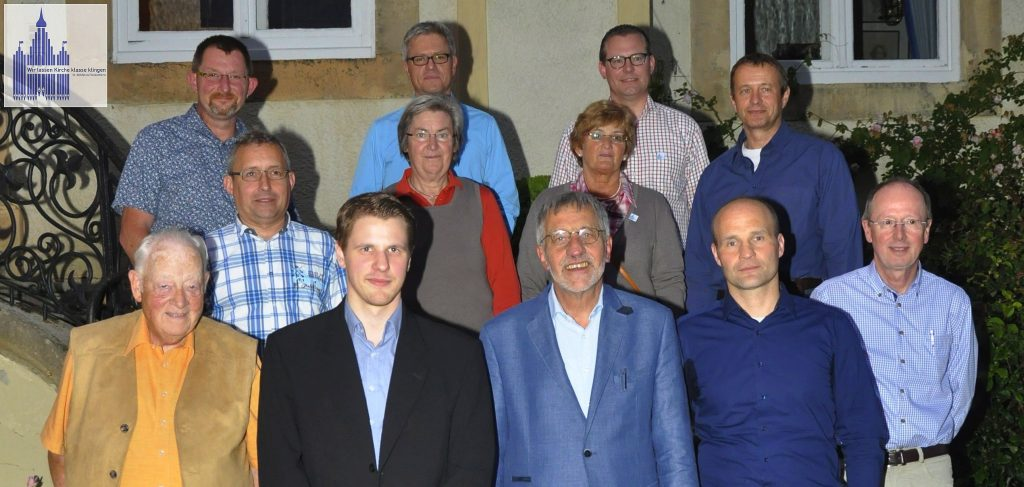 Vorstand des Orgelbauvereins St. Bonifatius Freckenhorst e.V. (es fehlt August Finkenbrink)