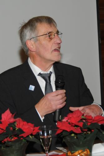 Begrüßung durch den Vorsitzenden des Orgelbauvereins