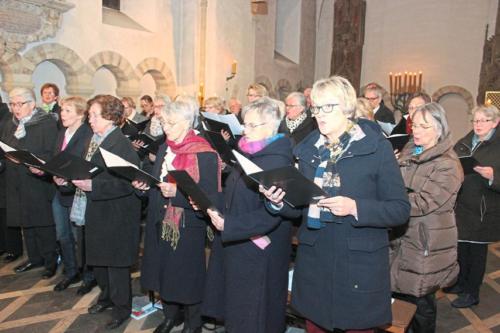 mit Beteiligung des Kirchenchores